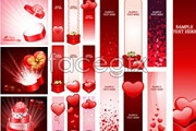 Link toValentine's day, practical element vector