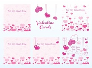 Link toValentine vector cards free