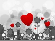 Link toValentine's day cartoon backgrounds pictures