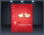 Link toValentines day publicity boards vector