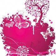 Link toValentines day romantic ornaments vector 04