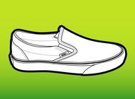 Link toVans shoe vector free
