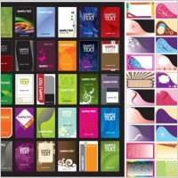 Link toVariety of background card template vector