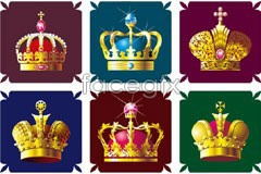 Link toVariety of beautiful crown vector