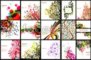 Link toVariety of beautiful fashion pattern background vector