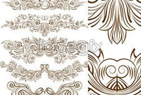 Link toVariety of beautiful pattern line version vector