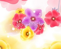 Link toVariety of colorful flowers vector graphics design