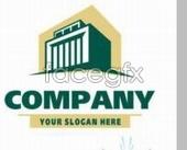 Variety of company logo c psd