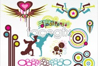 Link toVariety of current design elements vector