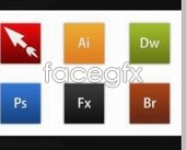Link toVariety of design software icon psd