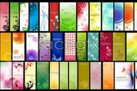 Link toVariety of display background vector