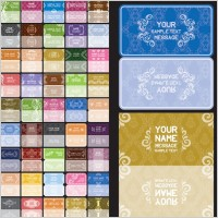 Link toVariety of european background pattern vector 1 card
