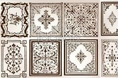 Link toVariety of european style and practical border pattern vector