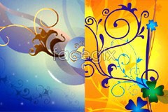 vector background pattern fashion of Variety