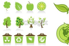 Link toVariety of fresh green icon