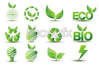 Link toVariety of green icon design vector