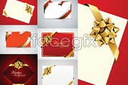 Link toVariety of holiday card vector