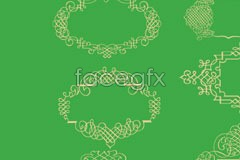 Link tovector borders, practical beautiful style korea of Variety