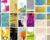 Link toVariety of practical card template vector