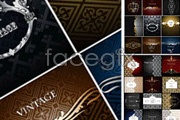 Link toVariety of practical european-style pattern vector