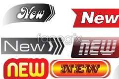 Link toVariety of practical new icon vector