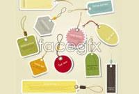 Link toVariety of product hang tag vector