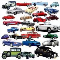 Link toVariety of retro car psd