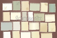Link toVariety of ripped paper vector