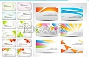 Link toVariety of stylish card background vector