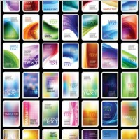 Link toVariety of symphony card background vector
