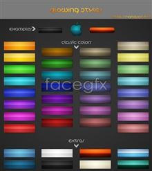 Link toVariety of texture web page buttons psd