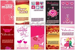 Link toVariety of valentine's day cards eps vector