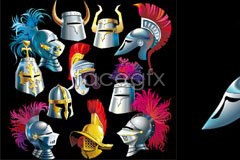 Link tovector helmet samurai ancient Various