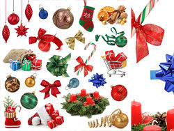 Link toVarious christmas items hd pictures