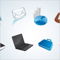 Link toVarious office vector icons