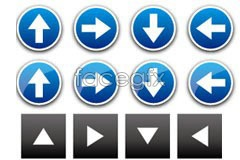 Link toVarious practical arrow icon vector