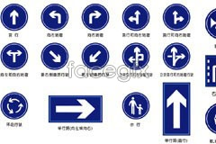 Link toVarious traffic signs vector