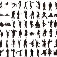 Link toVarious vector silhouettes - volume 2
