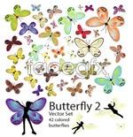 Link toVector 42 butterflies