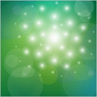 Link toVector abstract background green and bokeh