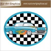 Link toVector art graphics - classic automobile