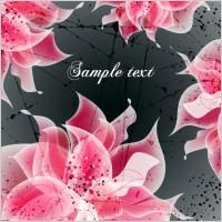 Link toVector background floral fantasy 04