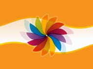 Link toVector background with flower free