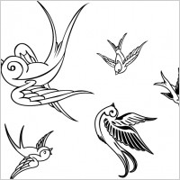 Link toVector birds sparrows