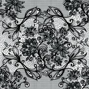 Link toVector black lace creative background graphics 03 free