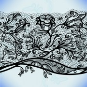 Link toVector black lace creative background graphics 04 free
