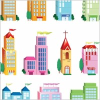 Link toVector building icon set