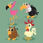 Link toVector cartoon birds