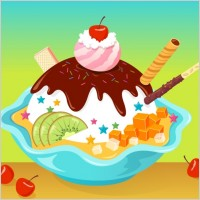 Link toVector cartoon ice cream