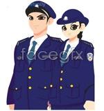 Link toVector cartoon police
